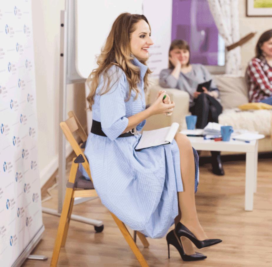 тренинг психолога, женские курсы